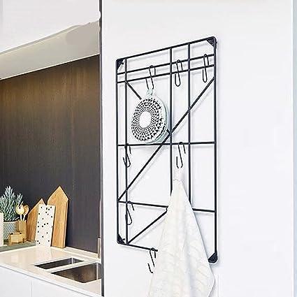 Ganci appendiabiti Europeo creativo camera da letto parete nera ...