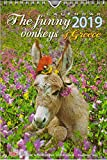 Greek wall calendar 2019: The funny donkeys of Greece