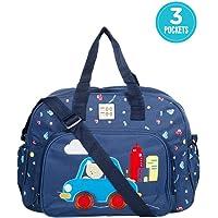 Mee Mee Multipurpose Diaper Bag with Changing Mat, Royal Blue