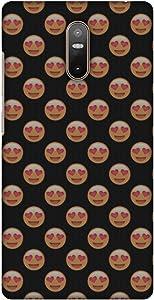 AMZER Slim Handcrafted Designer Printed Hard Shell Case Back Cover For Lenovo Phab 2 - Emoji Love