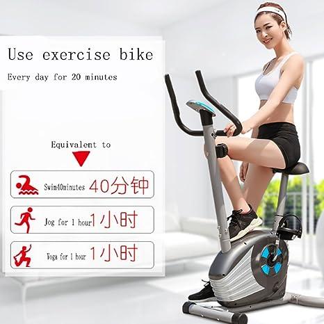 A-SSJ Bicicletas Estáticas y de Spinning Bicicleta de Ejercicio en ...
