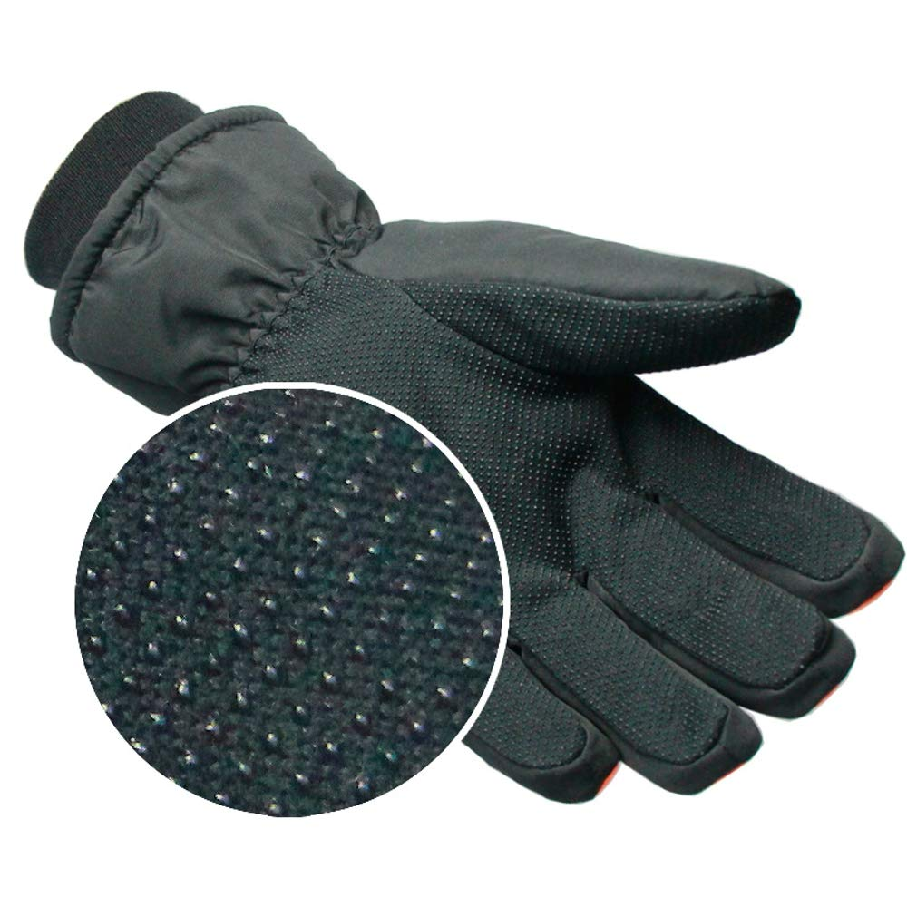 Rouoi Thickened Ski Gloves Waterproof And Windproof Wear-Resistant Warm Riding Gloves