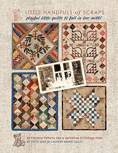Little Handful of Scraps Quilt Book Projects Mini Quilt Patterns