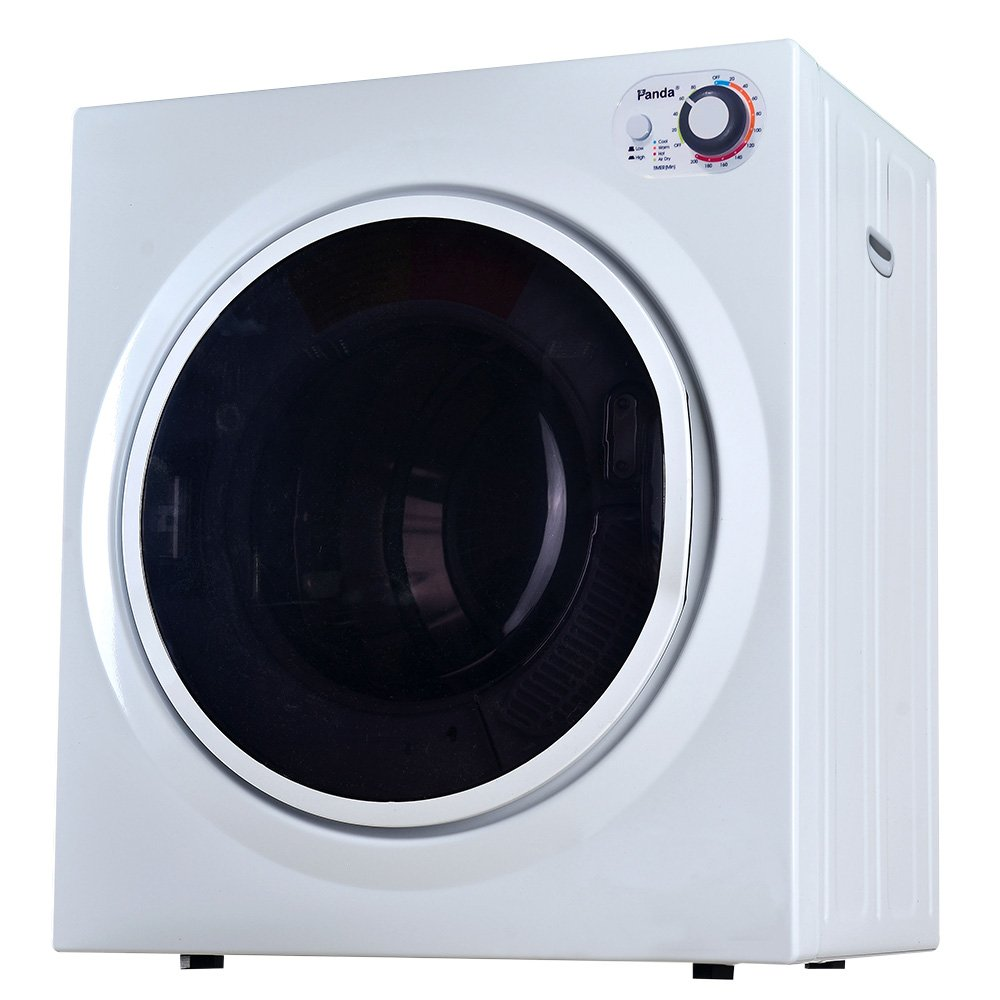 Panda 3.75 cu.ft Compact Laundry Dryer, White SNPTS PAN60SF
