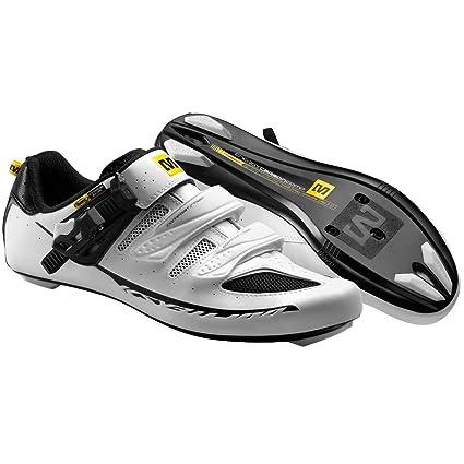 Mavic Ksyrium Elite - Zapatillas ciclismo carretera para hombre - blanco Talla 43 1/3