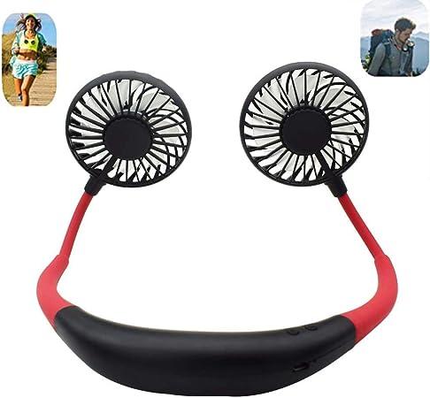 Haute Qualité Ventilateur Portable Mains-Libres Cou Suspendus De Chargement USB Mini Sports Fan