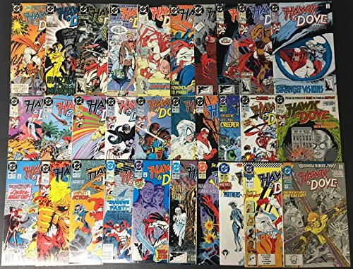 Hawk & Dove (1988) 1-28 + 2 annuals complete set 30 comics total