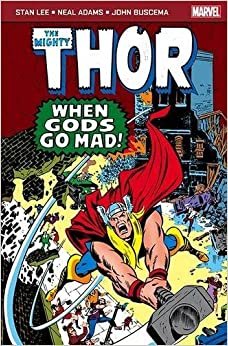 Marvel Pocketbook: The Mighty Thor: When Gods Go Mad by Lee, Stan (2013)