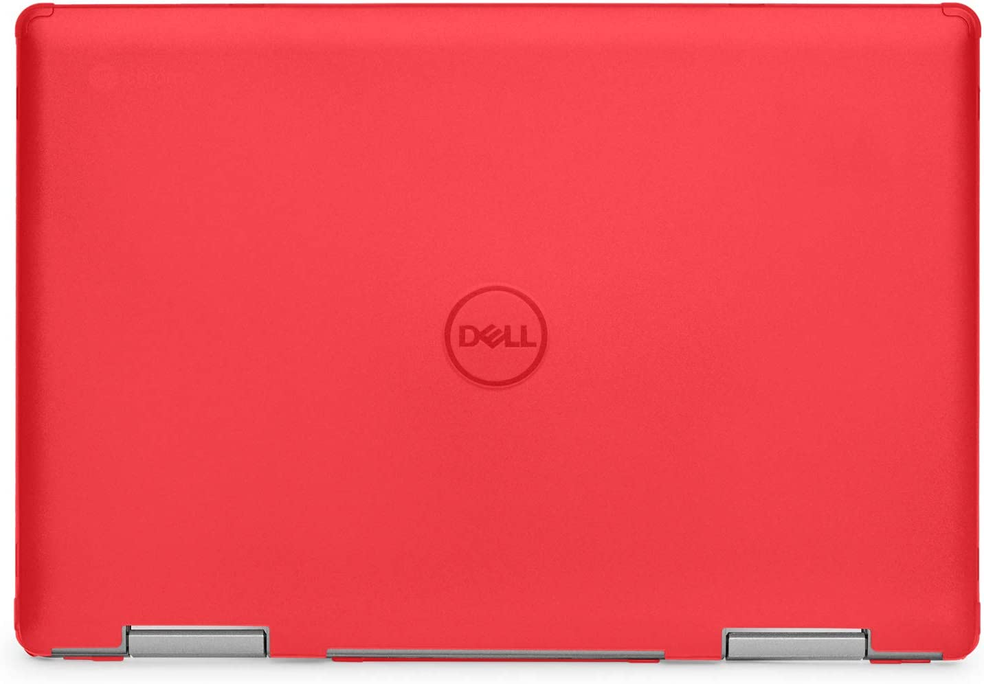 """mCover Hard Shell Case for 14"""" Dell Inspiron 14 5481 2-in-1 Series Laptop Computers (NOT Compatible with Other Dell Inspiron Series) (Red)"""