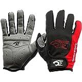HGDGears Gel Guanti Ciclismo MTB Moto Invernali Protezione - Bici Sport Fitness Gym Gloves per Donna e Uomo