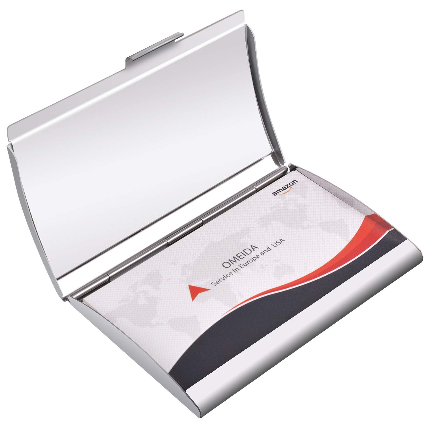 Amazon Maxgear Metal Business Card Holder Stainless Steel