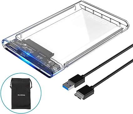 """BU Boîtier Disque Dur Externe 2,5/"""" pouces SATA USB 3.0 Super Speed"""