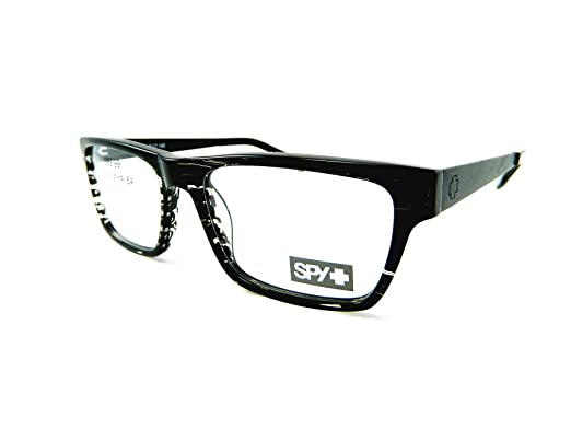 1fe4c3929a7 Image Unavailable. Image not available for. Color  New Spy Optic Rx Prescription  Eyeglasses - Nate - Black Stripe ...