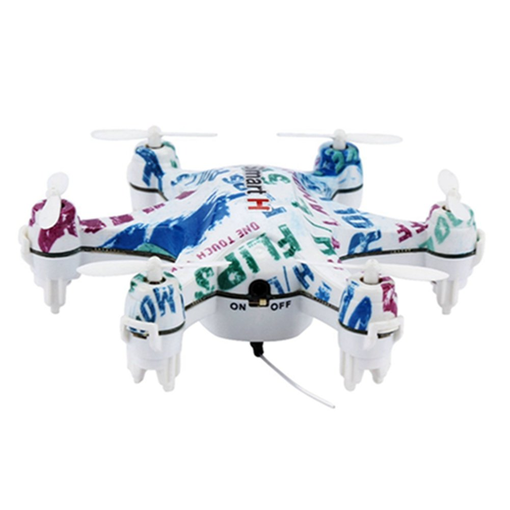 RC Hexacopter Wifi FPV Drone With Camera Live Video, Dayan Anser CX-37 Altitude Hold RC Helicopter, Cheerson Nano Vehicle Fast Drift Toys With Mobile Phone Control, One Key Take Off/Landing (White)