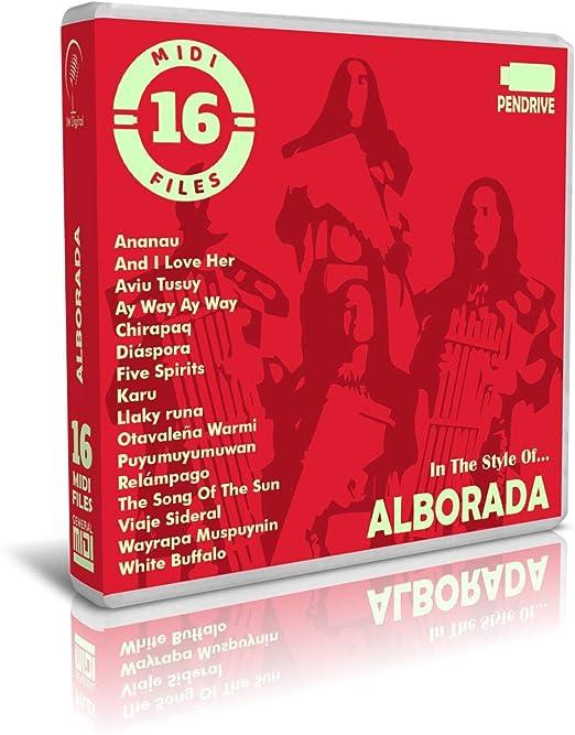 Alborada - Pendrive USB OTG - Contiene 16 Midi Files Al ...