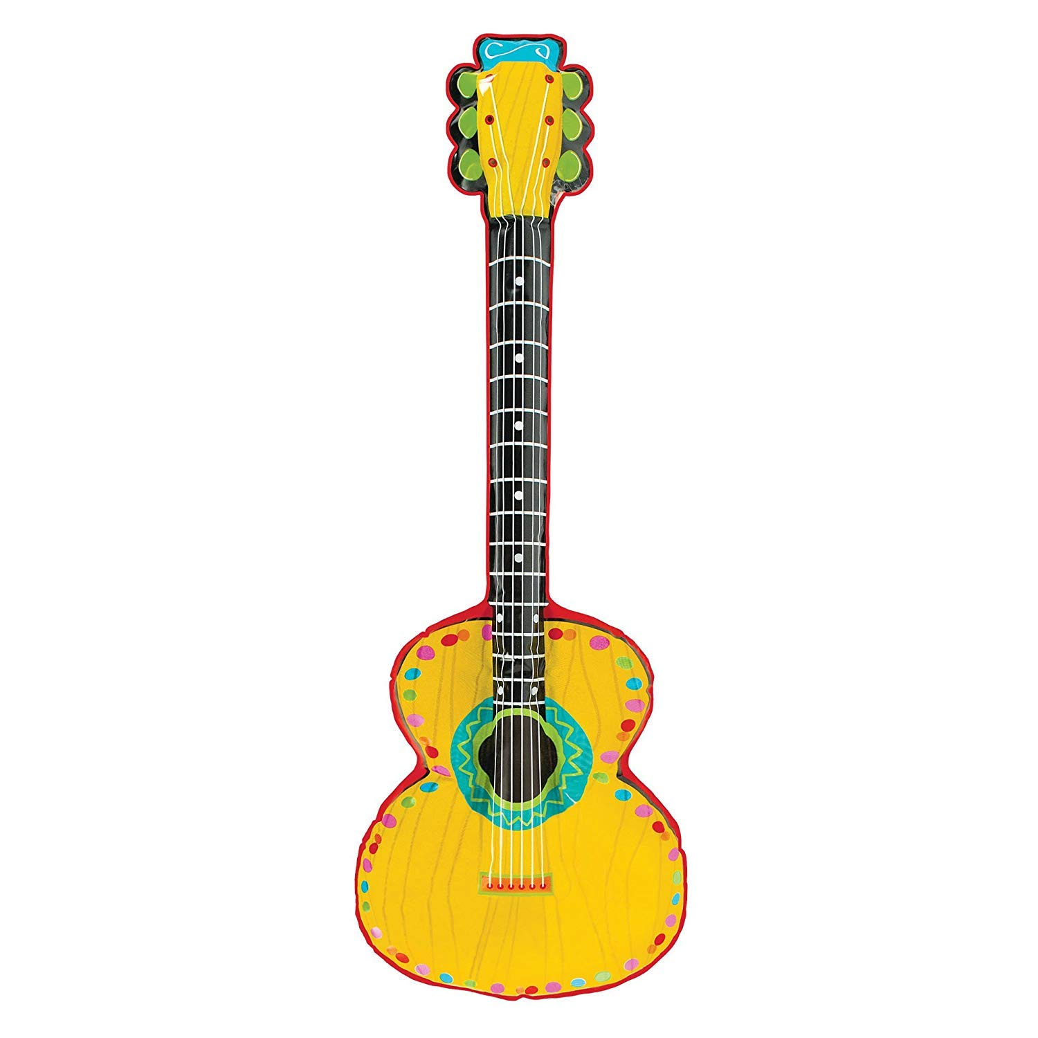 Amazon.com: Mariachi guitarra inflable juguete: Kitchen & Dining