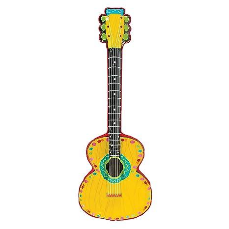 Amazon.com: Mariachi guitarra inflable juguete: Kitchen & Dining