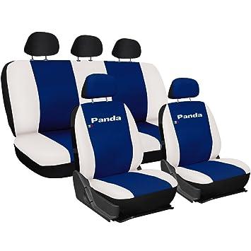 Sitzbezüge blau vorne KOS FIAT SEICENTO