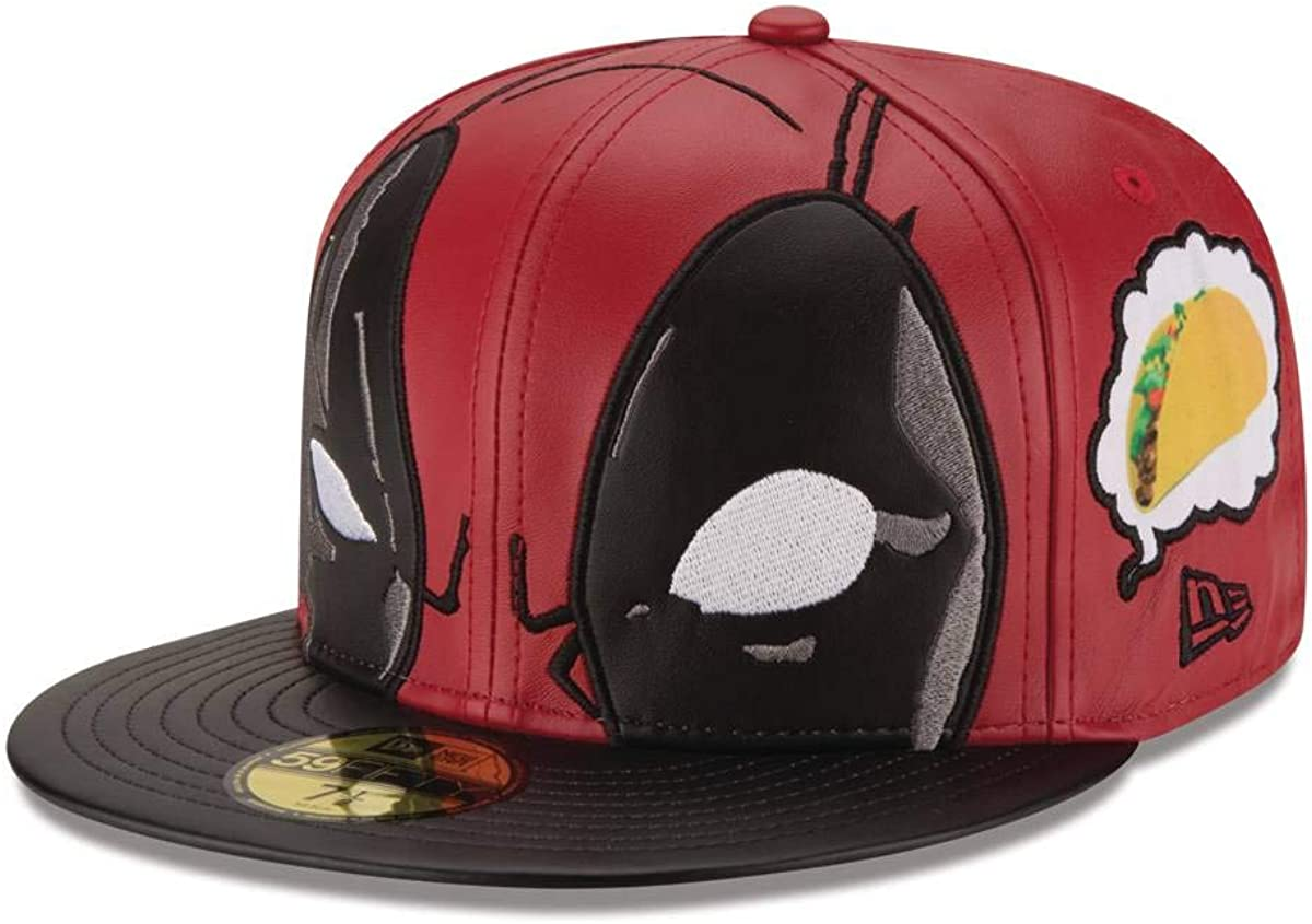 Marvel Deadpool Thinking About Tacos 5950 Gorra de Béisbol ...