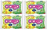 O-Cel-O Heavy Duty Scrub Sponges (Color May Vary) 2 ea (Pack of 4)