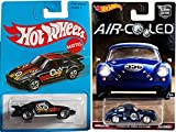 Hot Wheels Porsche Special Edition Cars Car Culture Air Cooled 356A Outlaw Real Riders & Exclusive Retro Blue Card 2016 Black Porsche 930