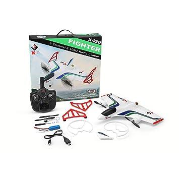 KingGo X420 RC Airplane 6CH 3D / 6G Despegue y Aterrizaje Stunt RC ...