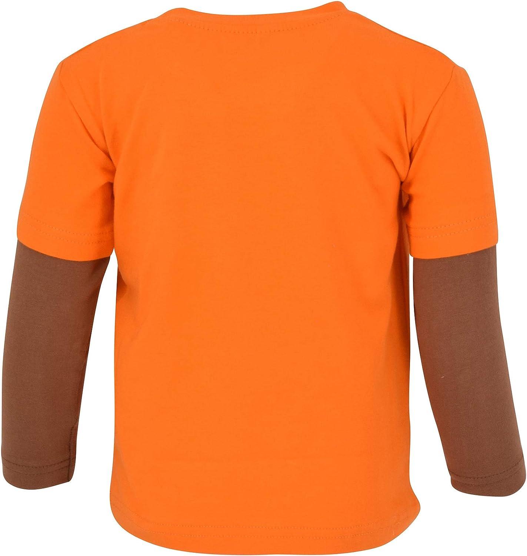 UBS Keep Calm Eat Turkey Boys Long Sleeved Thanksgiving Shirt
