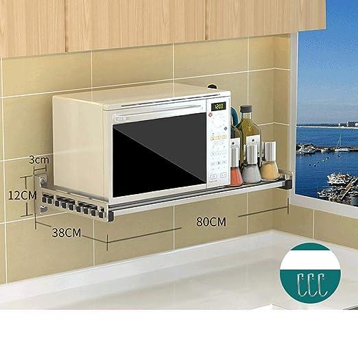 SENSEN 80 * Horno de Acero Inoxidable Cocina microondas 38cm de ...