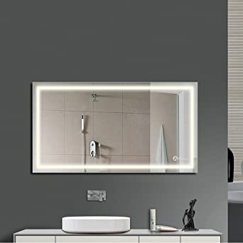 Anten® LED Badspiegel 18W 4000K IP65 Badezimmerspiegel mit ...