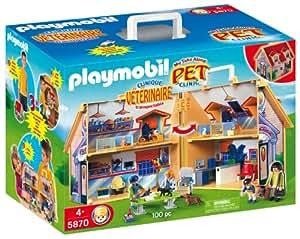 Playmobil Zoo - Clínica veterinaria, maletín (5870)