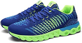 NEWZCERS Chaussures pour hommes femmes Athlétique Walk Gym Chaussures Sport Run