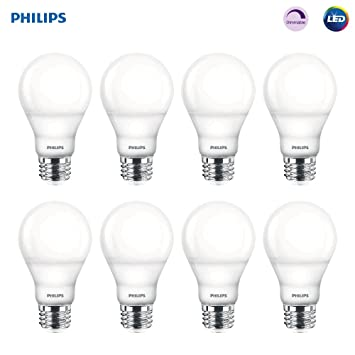 Phillips Hue Lux LED Dimmable A19 White Light Bulb