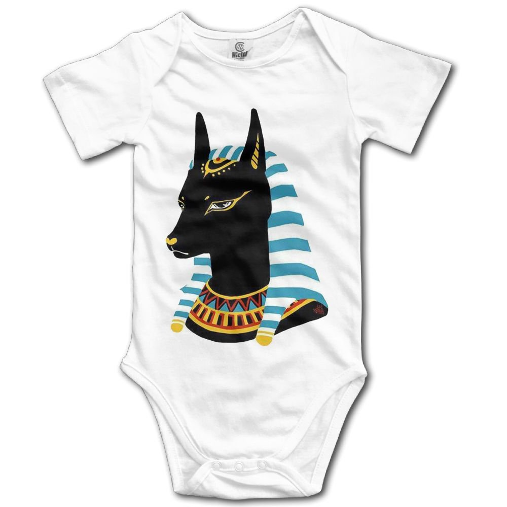 Rainbowhug Cute Anubis God Unisex Baby Onesie Cute Newborn Clothes Funny Baby Outfits Comfortable Baby Clothes