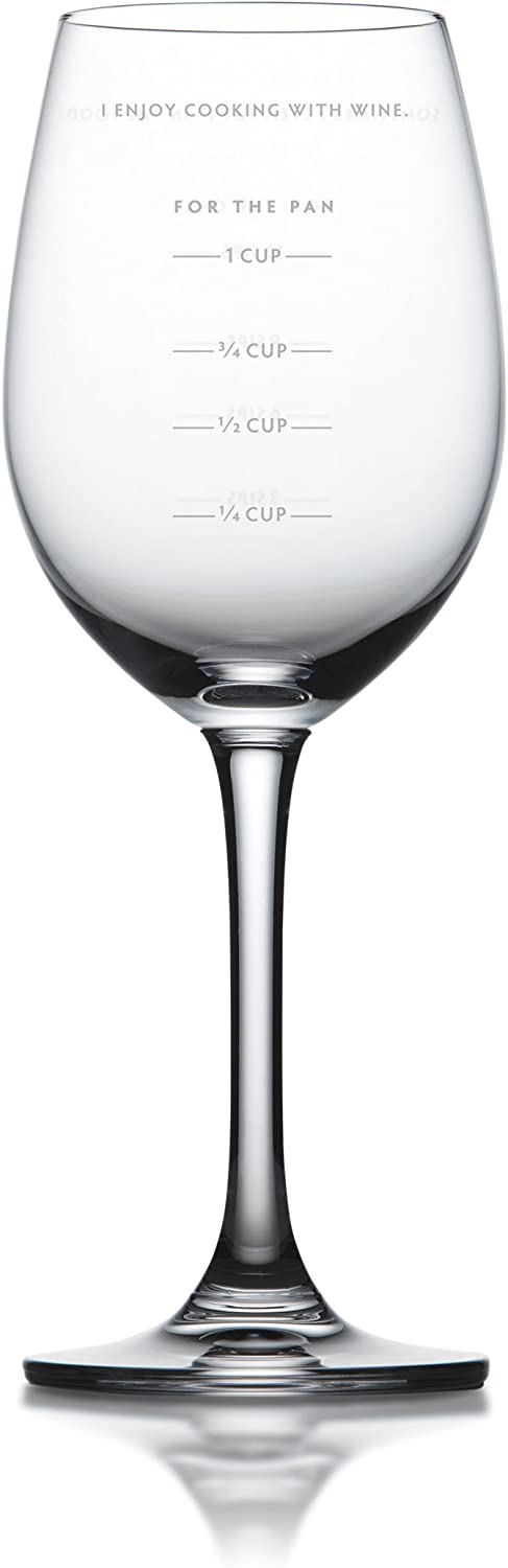 Fred SAUCED Measuring Wine Glass