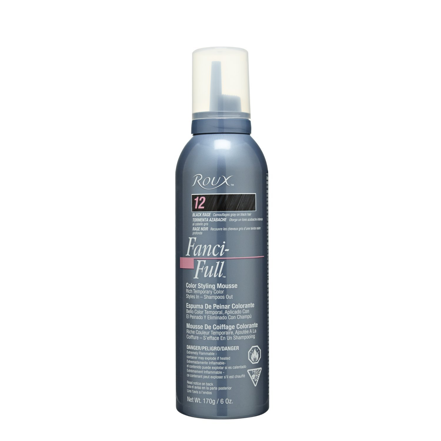 Amazon Roux Fanci Full Color Styling Mousse 12 Chemical