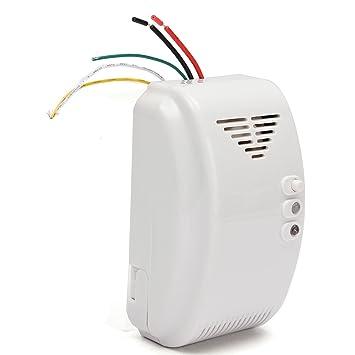 Amazon.com: HITSAN 12V Gas Detector Sensor Alarm Propane Butane LPG Natural Motor Home Camper Marine One Piece: Home Improvement