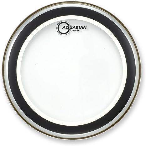 "Aquarian 12/"" Studio X Clear Drum Head SX12"