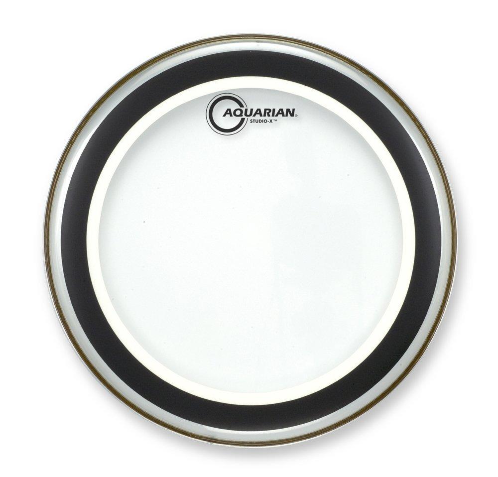 Aquarian SX10 Drumheads Studio-X Clear 10-Inch Tom Tom Drum Head Aquarian Drumheads