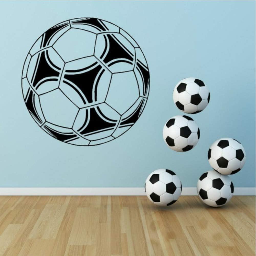 Lovemq 56 * 56 Cm Gran Balón De Fútbol De Fútbol Tatuajes De Pared ...