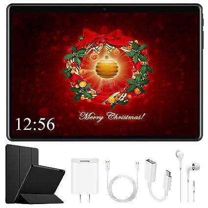 Tablet 10 Pulgadas DUODUOGO Android 32GB ROM Tableta WiFi Full HD Cámara Tablet PC Dual SIM Ranuras de Tarjeta Bluetooth OTG GPS