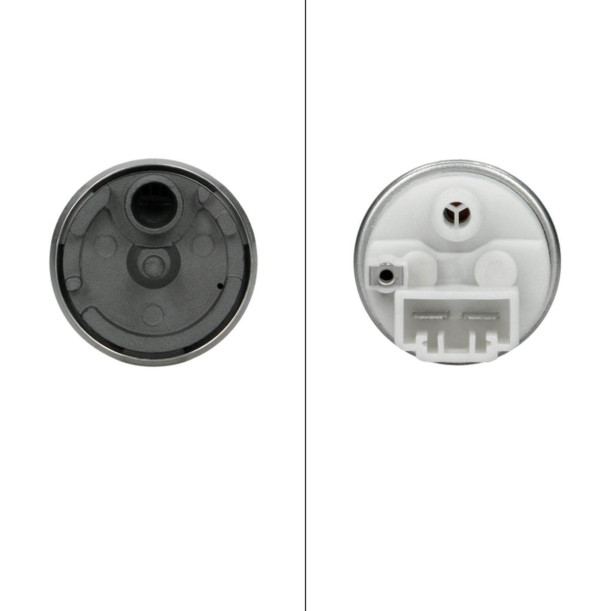 ECD Germany KP032 Benzinpumpe Kraftstoffpumpe Kraftstofff/örderung elektrisch 12V 3,8 bar