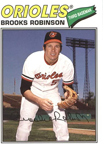 2018 Topps Archives Base 1977 #138 Brooks Robinson