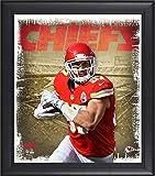 Best Sports Memorabilia Sports Memorabilia Collage Makers - Travis Kelce Kansas City Chiefs Framed 15