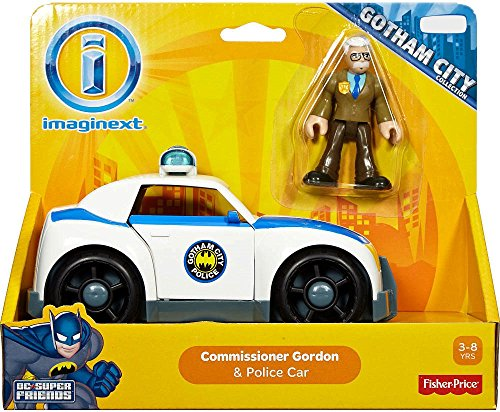 Fisher-Price Imaginext DC Super Friends Commissioner Gordon and Police Car