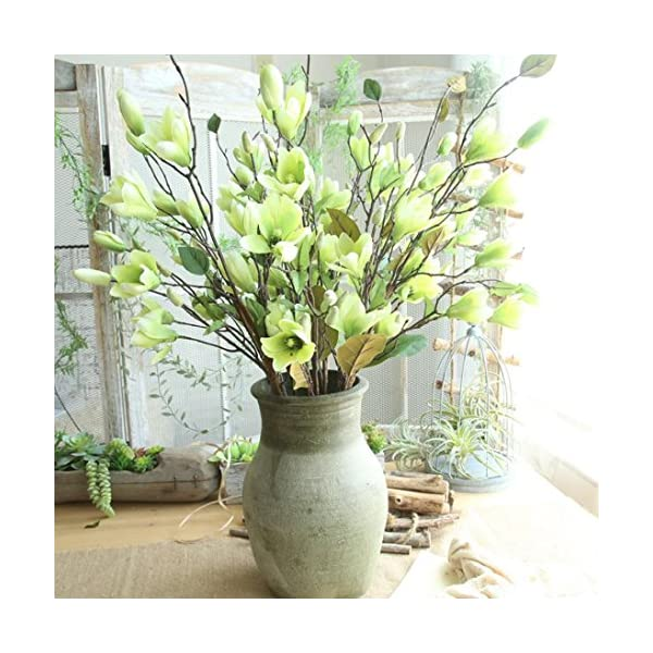 TiTCool-Artificial-Fake-Flowers-Leaf-Magnolia-1-bunch-9-Heads-NEW-Wedding-Bouquet-Outdoor-Party-Home-Decor
