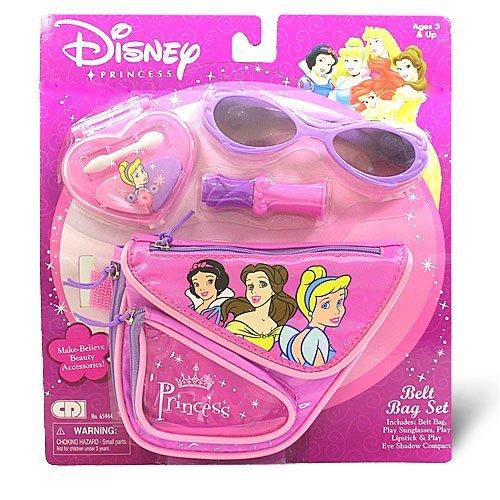 Cdi Compact - Disney Princess Belt Bag Set Includes Play Lipstick, Bag, Sunglasses & Play Eye Shadow Compact by Disney