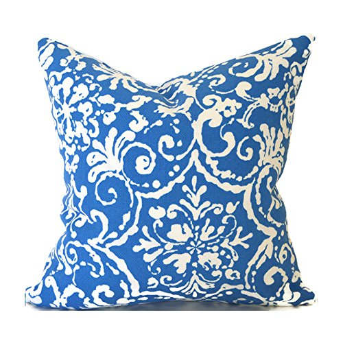 Outdoor Decorative Throw Pillow Cover Any Size OD Affair Cornflower