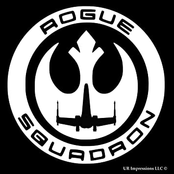 Amazoncom Rogue One Squadron Star Wars Inspired Decal Vinyl - Vinyl stickers on cars