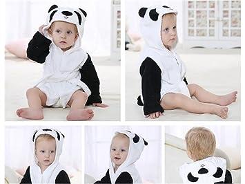 FERZA Home Toalla de baño para bebé Panda de Dibujos Animados para ...