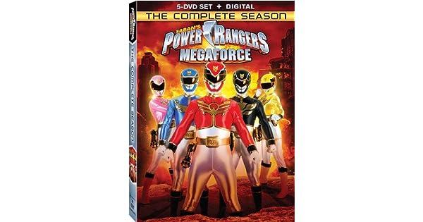 Amazon.com: Power Rangers Megaforce: The Complete Season ...